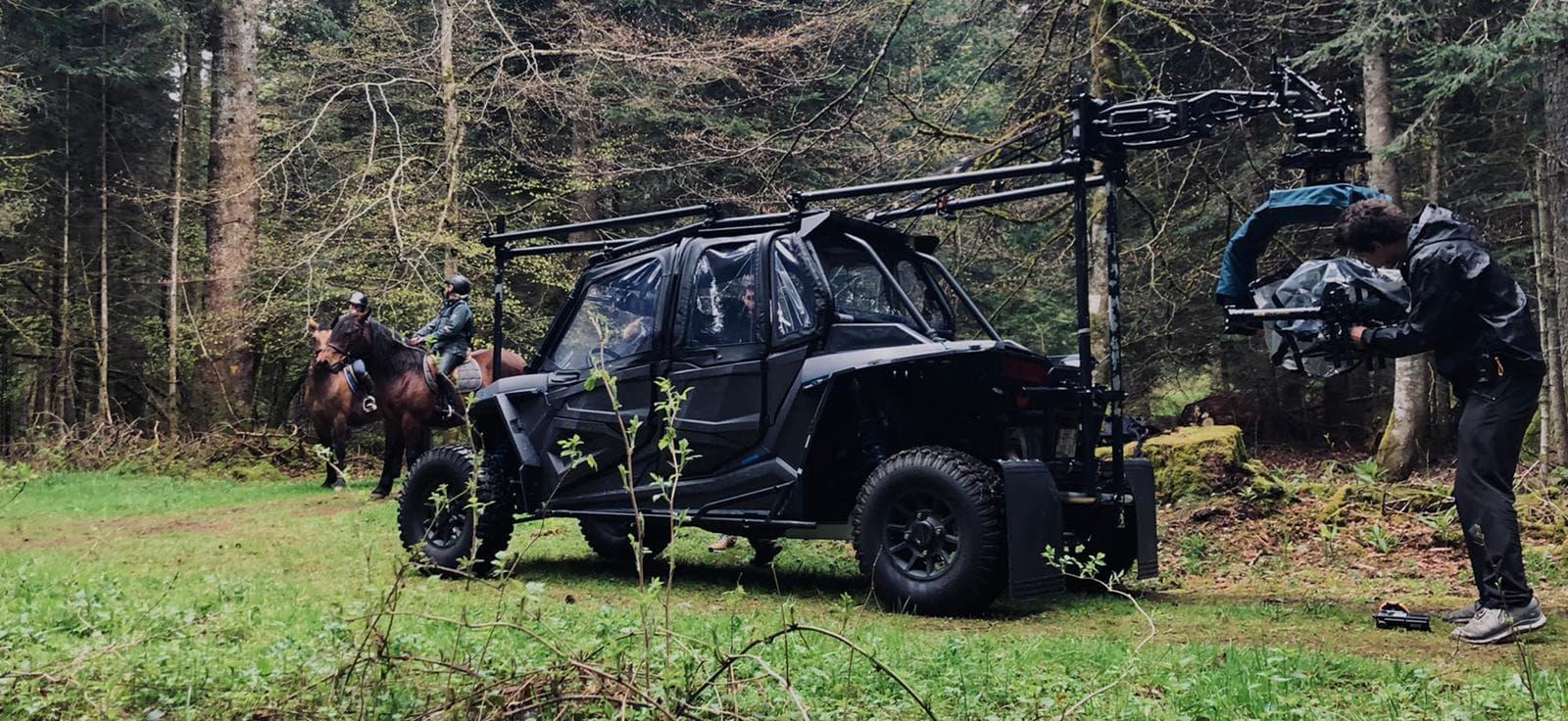 ATV Black arm